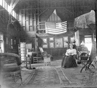 House interior, ca. 1900.